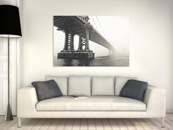 Photo Manhattan Bridge dans la brume - Guillaume Gaudet