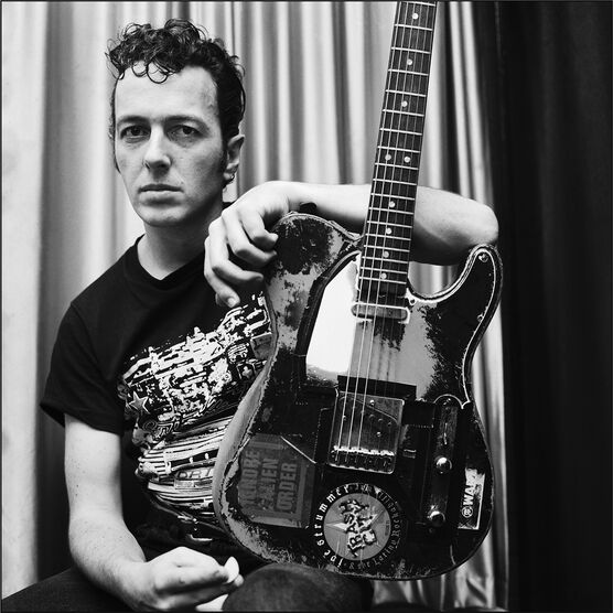 Photo Joe Strummer 89 - Richard Bellia