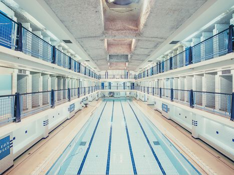 Photo Piscine des Amiraux Paris - Franck Bohbot