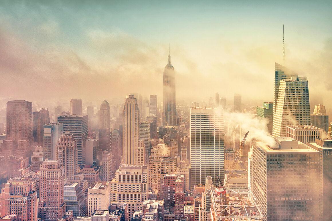 Photograph: A Cloudy Morning In New York, Matthias Haker · YellowKorner