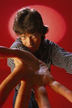 Photo Mick Jagger - Pierre Terrasson