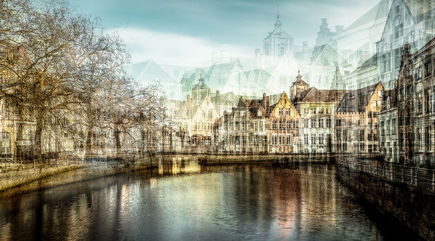 Photo BRUGES CANAL - Laurent Dequick
