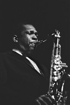 Photo John Coltrane, 1961 - Hervé Gloaguen