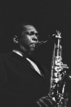 Photo John Coltrane, 1961 - Hervé Gloaguen