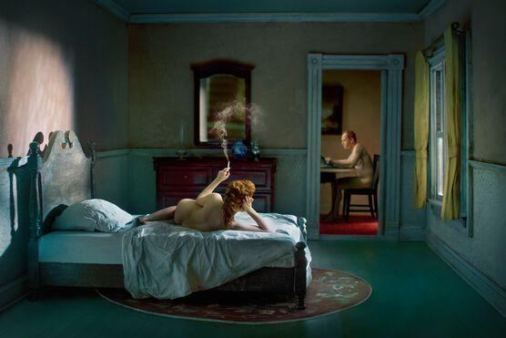 Photo Pink Bedroom Odalisque - Richard Tuschman