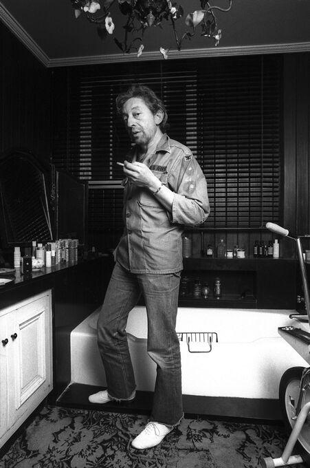 Photo Le fumeur de gitanes - Xavier Martin