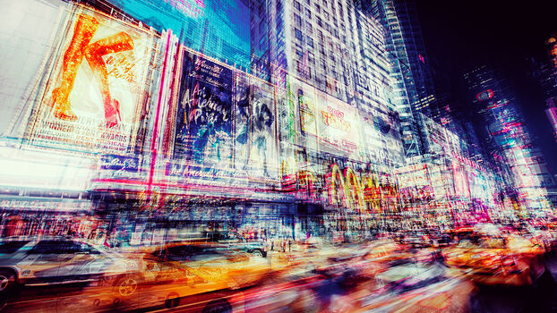 Photo GORGEOUS TIMES SQUARE - Laurent Dequick